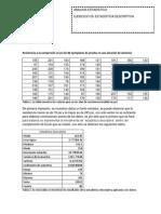 Análisis-estadístico. Estadística descriptiva