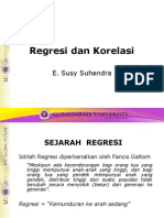 (6)Regresi Korelasi