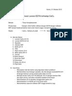 Titrasi EDTA Dengan CaCl2