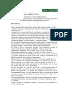 Codigo Etica Colegio de Farmaceuticos Provincia de Bs As