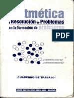 MESCUDAritméticayRPenlaFormacióndeProfesores