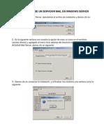 Servidor Mail WindowsServer