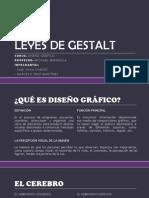 LEYES DE GESTALT