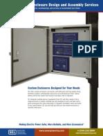 Custom Enclosures Flyer