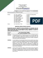 038-2013 - MR (Addtl. Lot- Health Facility -BUCAF)