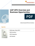 SAP APO - General Overview