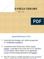Ligand field theory