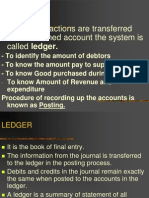 BBA Ledger Account