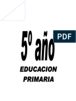 Quinto de Primaria