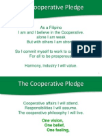 1 Cooperative Pledge