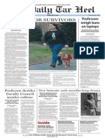 The Daily Tar Heel for Jan. 9, 2015