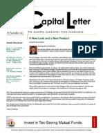 Capital Letter February 2014 - Fundsindia.com