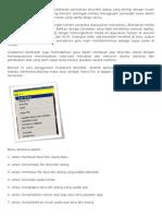 Crossword Generator adalah multimedia permainan teka teki silang.docx