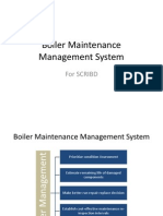 Boiler Maintenance Management System