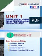 UNIT 1 Presentasi