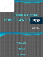 Conventional Power Generation
