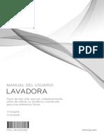 Manual Lavadora Lg