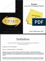 dialogue book summary