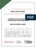 Preservation Procedure