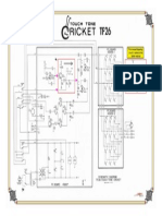 Sencore TF 26 Cricket Transistor Tester . . .  UPGRADE to its Schematic