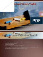 Abstract  Window Tool kit