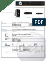 OptiPlex 740 TechSpecs