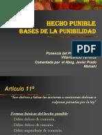 07.l Hecho Punible Base de La Punibilidad