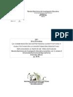 Combinación Estrategias Cuantitativas y Cualitativas