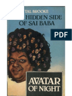 Avatar of Night. The Hidden Side of Sai Baba by Tal Brooke