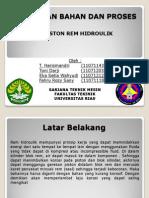PEMILIHAN BAHAN DAN PROSES pptx