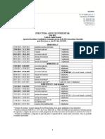 Structura Anului 2014-2015
