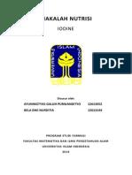 Iodine, iodine adalah, pengertian iodine
