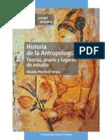 Historia de La Antropología