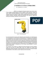 Final Project Report - Fanuc LR Mate 200c