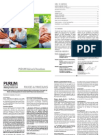 Purium Policies and Procedures