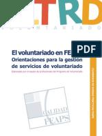 El Voluntariado FEAPS PDF