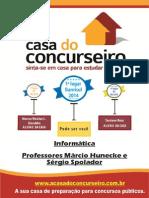 Apostila FEIRA DO LIVRO Informática Márcio Hunecke e Sergio Spolador1