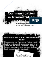 Communication and Presentation Skills