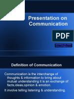 Communication Presentation by Jeetendra