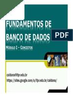 Modulo1FDB - FundamentosBD