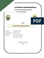 habilidades administrativas trabajo.docx