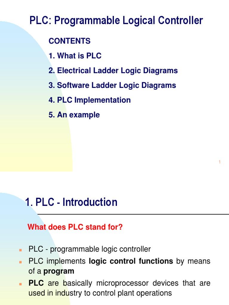 Ladder Diag Plc Implementation Address Db Logic Diagram Examples