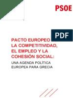 Alternativa del PSOE para ayudar a Grecia (PDF)