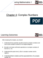 Chapter 4 Complex Numbers