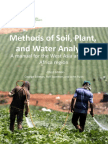 Soil, Plant and Water Analysis