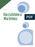 Viata Lui m.eminescu