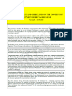 Partnership Agreement 2014-2020 Romania