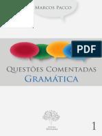 Questões Comentadas - Gramática - CESPE - Vol.1 - Marcos Pacco.pdf