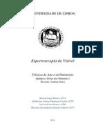 Actividade Experimental - Esprectroscopia