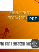 First 12 Week Training Program for a 5 k